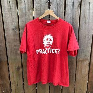 Vintage NBA Allen Iverson Practice? Men's Shirt